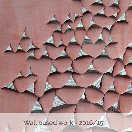 Wall based work - 2016/2015